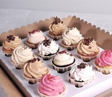 Caja para 12 cupcakes