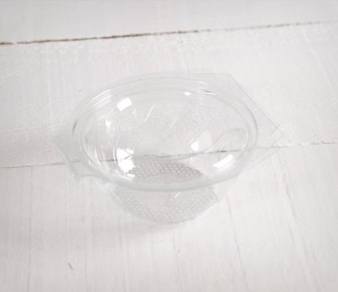 Bol de plástico PET para ensaladas
