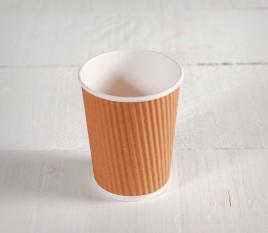 Kraft card cup 8oz