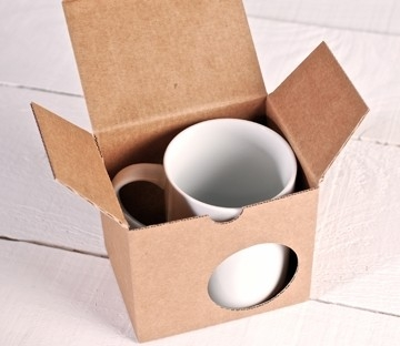 Cajas para tazas estándar