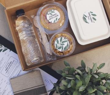 kit de comida para llevar
