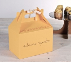 Yellow picnic box