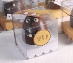 Caja transparente para huevos de Pascua