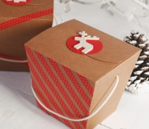 Chinese take-away gift box