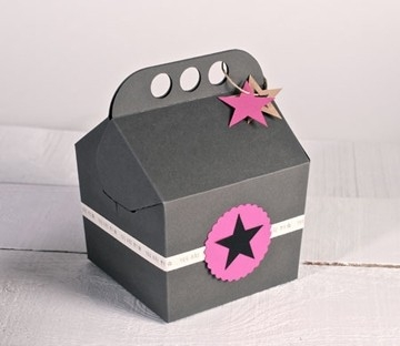 Happy box for presents