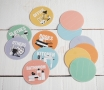 Etiquetas circulares