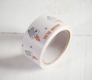 Printed sellotape for removals