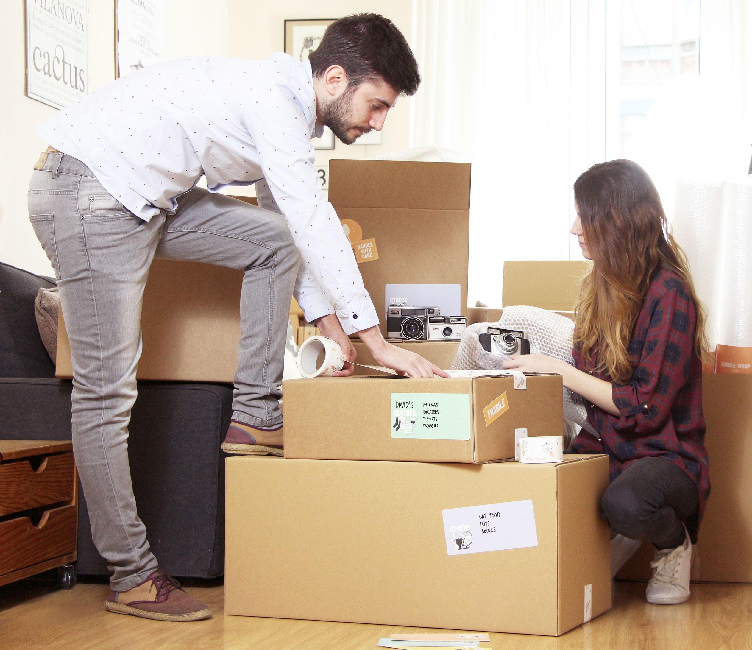 Comprar cajas mudanza beautiful cajas cartn y embalaje en - Cajas de mudanza ...