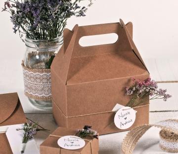 Caja de picnic decorada