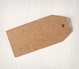 Etichette grandi lisce