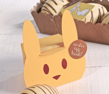 Cajita para fiestas infantiles y Pascua