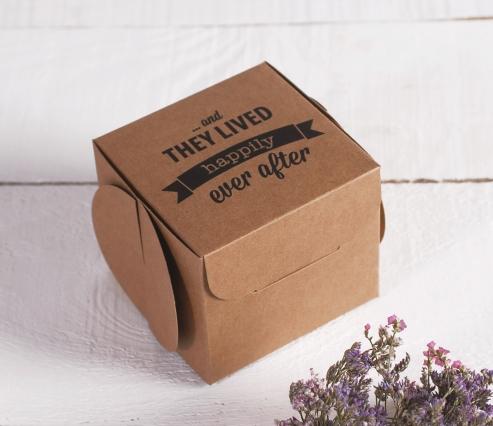 Caja regalo impresa. Ever After