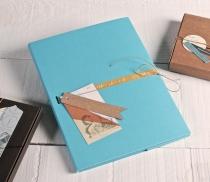 Kartonmappe für Fotos und CDs