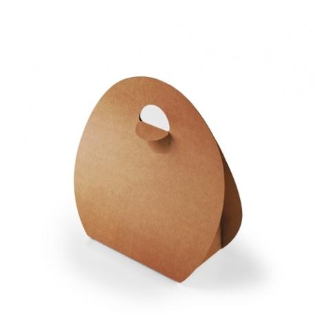 Sacchetto con manico in cartone