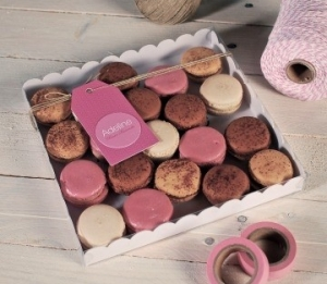 Individuell gestaltbare Schachtel für Kekse