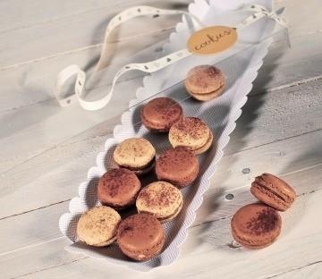 Cajas transparentes para galletas