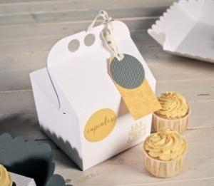Caja feliz para cupcakes