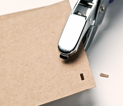 Perforadora Manual Ojal