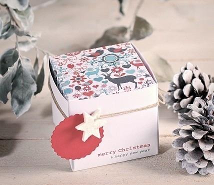Kit 5 Cajas Regalo Navidad 1506 M