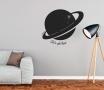Adesivo decorativo con pianeta
