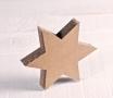 Kleiner Stern aus Karton
