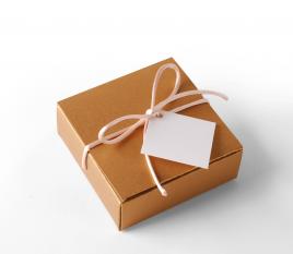 Scatola regalo quadrata