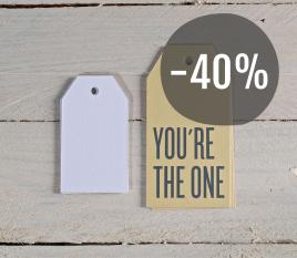 Kit de etiquetas YOU'RE THE ONE