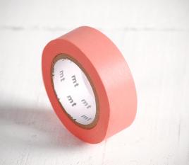 Washi tape en color salmón