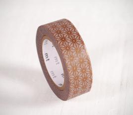 Washi tape mosaico dorato