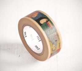 Washi Tape Cuadros Animales