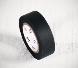 Schwarzes Washi Tape
