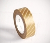 Gold washi tape with lines