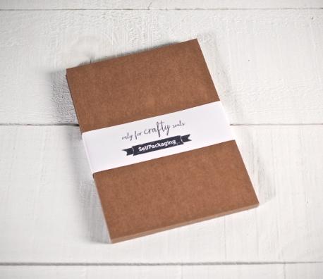 Kraftpapier-Karten A5