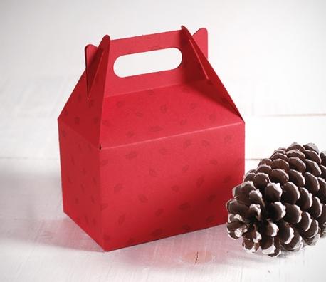 Caja regalo picnic navideña