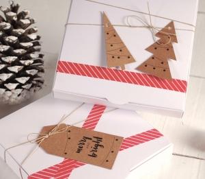Cajita para Navidad con complementos