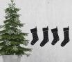 Adesivo decorativo natalizio con calze
