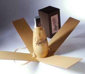 Gift box for bottles of liquor