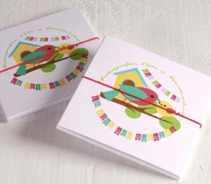 Caja regalo para fotos infantiles