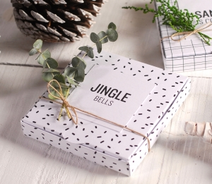 Christmas flat box