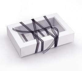 Caja rectangular plástico marco
