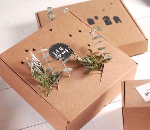 Christmas box for shipping