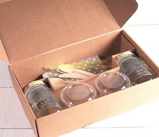 Kit de caja para 2 desayunos