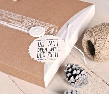 Cajas para regalos navideños
