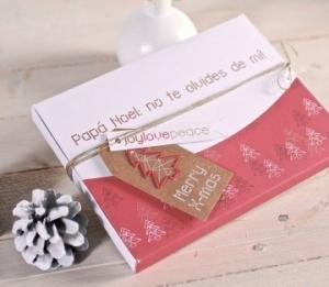 Cajas para fotos decoradas para Navidad