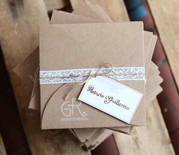Gift envelope for wedding invitations