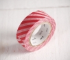 Wide striped washi tape