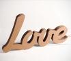 """Lettere in cartone """"LOVE"""""""