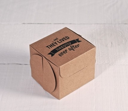Printed gift box - Ever after