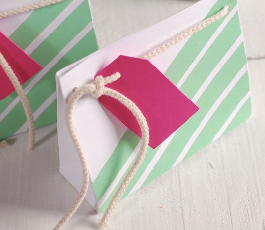 Bolsita para pequeños regalos decorada