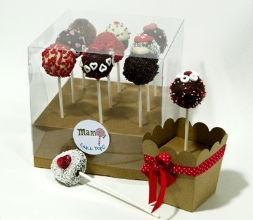 clear box for cake pops